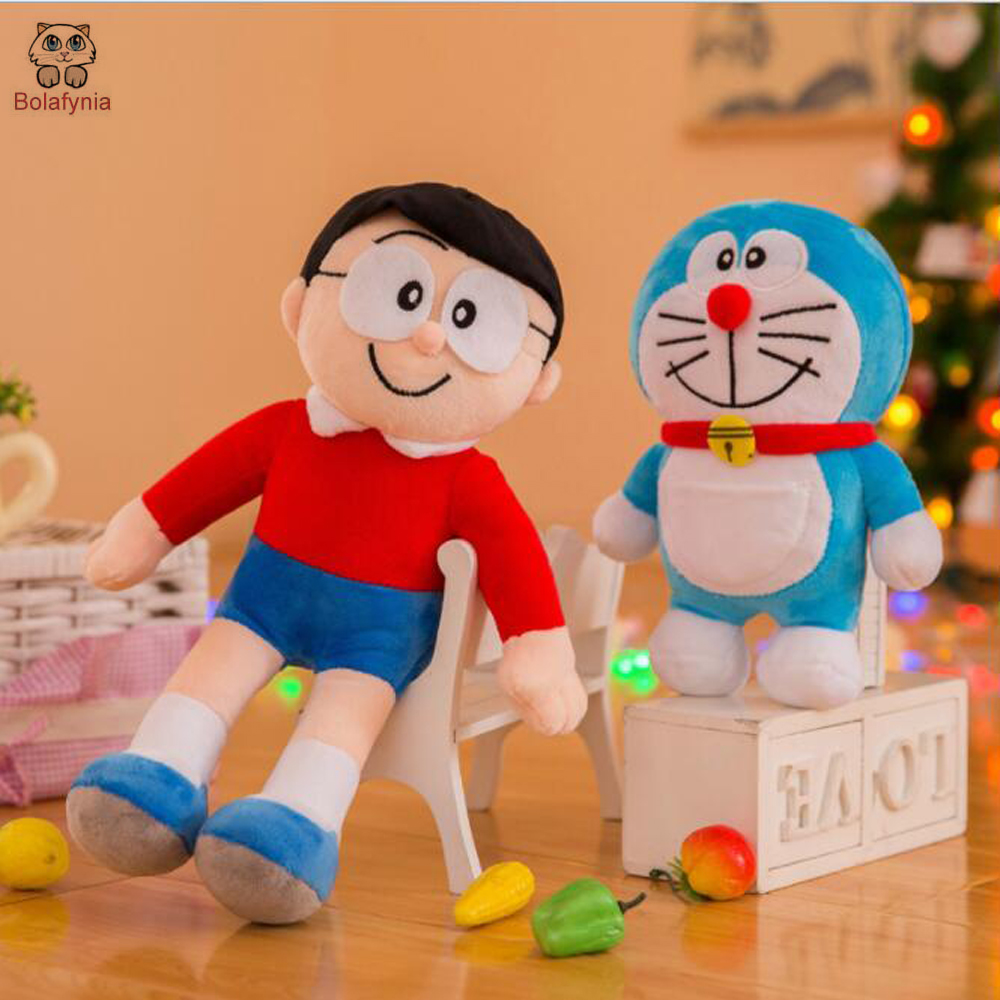 BOLAFINIA Children Plush Toys Doraemon High Quality Kids Baby Christmas Birthday Gift Stuffed Toy Dog Pillow