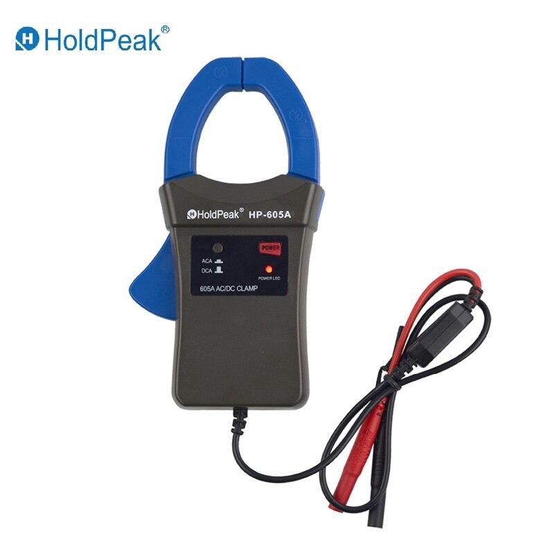 Holdpeak HP-605A Pince Adaptateur 600A AC/DC Courant Puissance LED 45mm Jaw calibre HoldPeak Numérique Pince Multimètre pour HP-890N