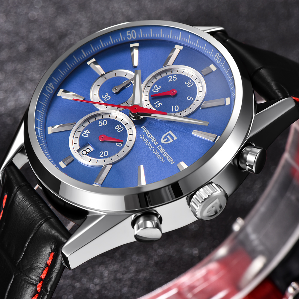 PAGANI DESIGN Men Watch Top Brand Luxury Stainless Steel Sport Watch Male Quartz Wrist Watch Men Clock relogio masculino pagani design men watch top brand luxury stainless steel leather sport military watch male quartz wrist watch men clock 2018 new