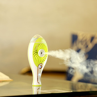 New Candy Colors Handhold Fan USB Rechargeable Spray Fan Outdoor Portable Cooling Fan