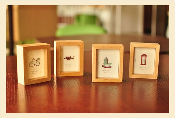 kids fun wood photo frame mini007 mini series thumbnail frames best