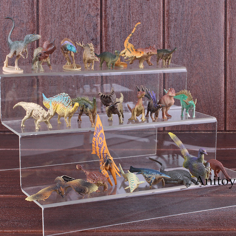 Jurassic Park Figure Jurassic World Toys Small Dinosaur Toys for Children Dinosaur Gift Animal Action Figure 24pcs/set