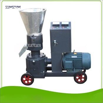 WKL200B High quality Pellet Machine Granulator 7.5KW 380V Pellet Mill Wood Pellet 70-110kg/h Feed Pellet 200-300kg/h Pelletizer фото