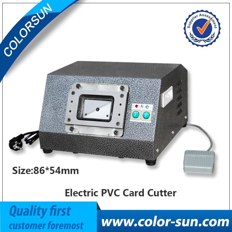 Pour Automatique moteur ID machine de coupe carte carte PVC machine de découpe