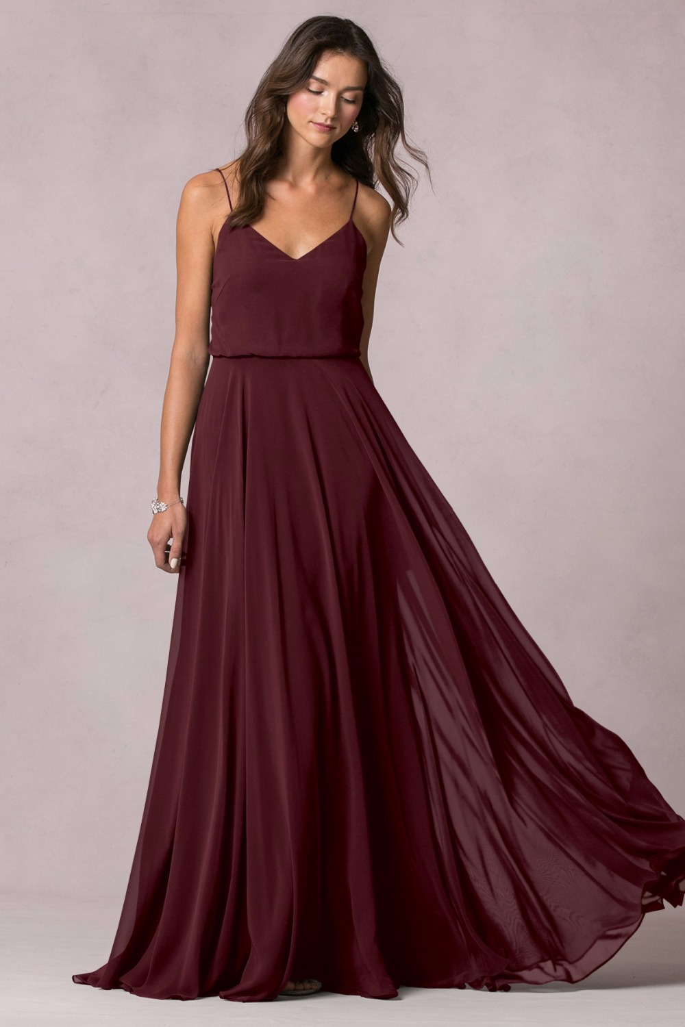 Online buy wholesale bridesmaid dresses burgundy from for Simple elegant wedding dress designers