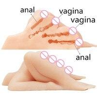 Новые силиконовые большая задница киска мужской мастурбатор анус реальной взрослых любовь Робот куклы искусственная вагина Анальный Секс