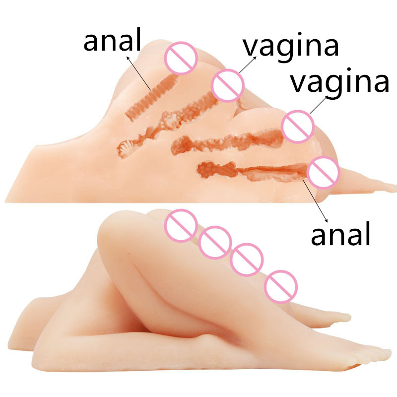New Silicone big ass Pussy Male masturbator anus Real adult love robot Dolls artificial vagina anal sex doll Realistic For Men the powerbook