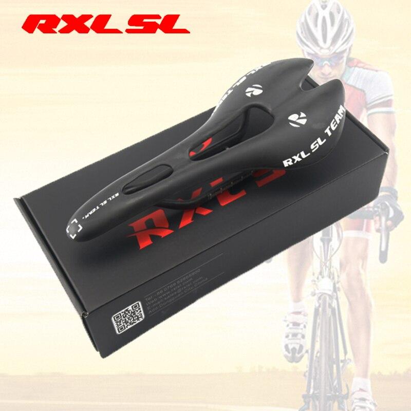 цена на RXL SL Cycling Saddle Front Seat Mat Black Carbon Saddle UD Matte Men Ultra-light MTB Bike Saddles Road Bicycle Saddles