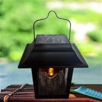 HUANJUNSHI LED Güneş Enerjili Mum Lamba Açık Ev Fener Bahçe Şemsiye Asmak Ağacı Peyzaj Işık Düğün Dekorasyon Lambası
