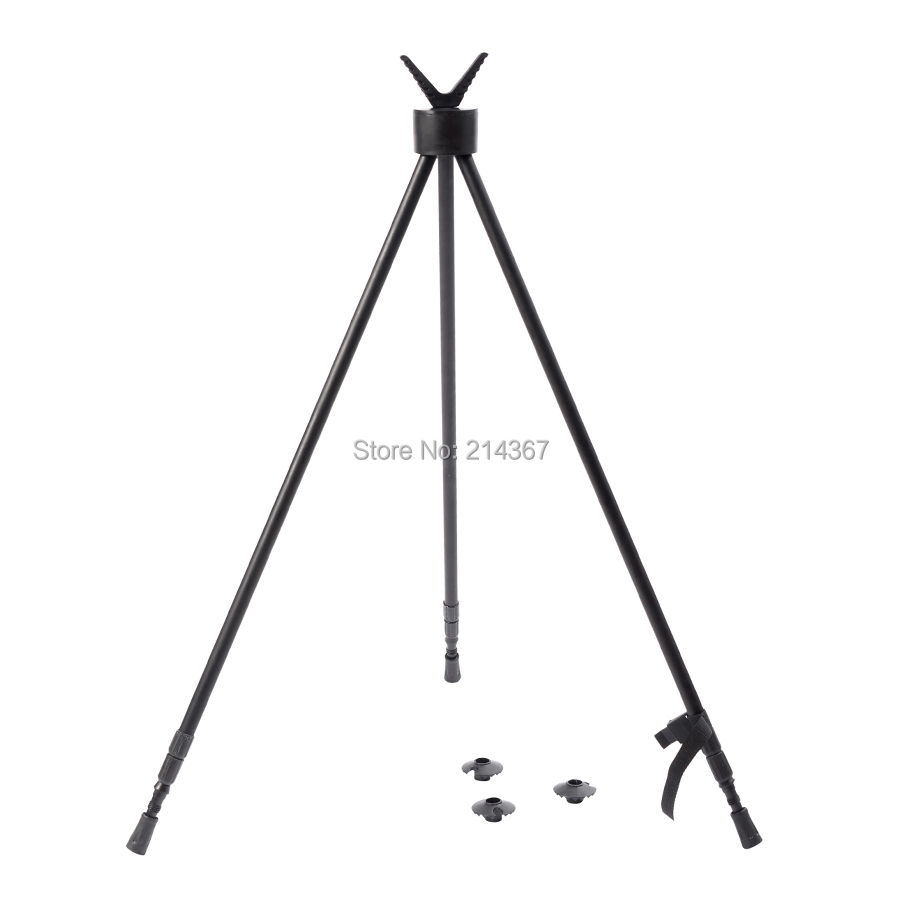 Professional Shooting Tripod Hunting Rifle Tripod Wild Game Tactical Tripod Stand Gun Rest Tripod Bipod Free Ship simple bathroom ceramic wash four piece suit cosmetics supply brush cup set gift lo861050