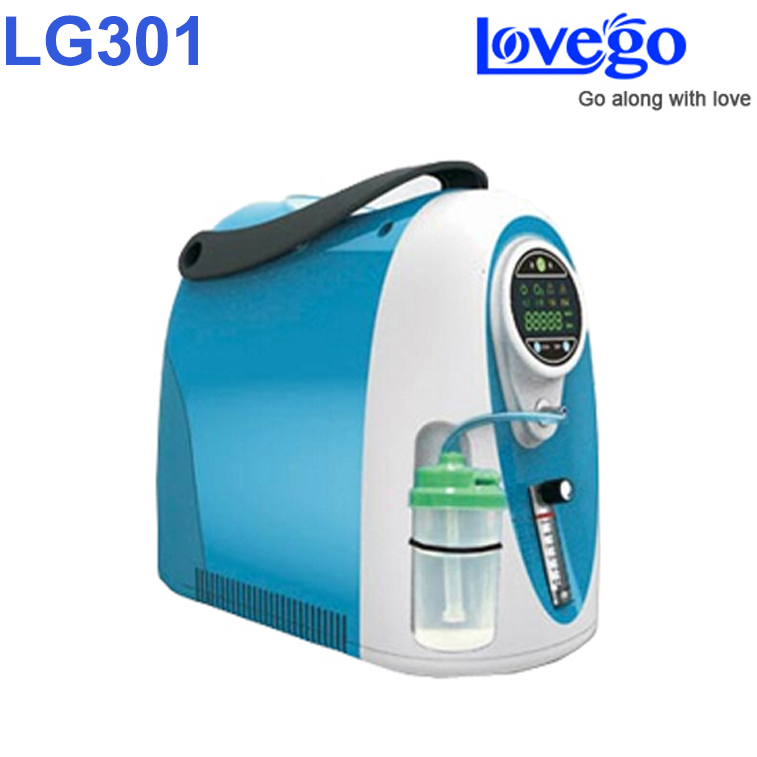 Home use 3 liters Lovego oxygen concentrator LG301 with 93% oxygen purity цена