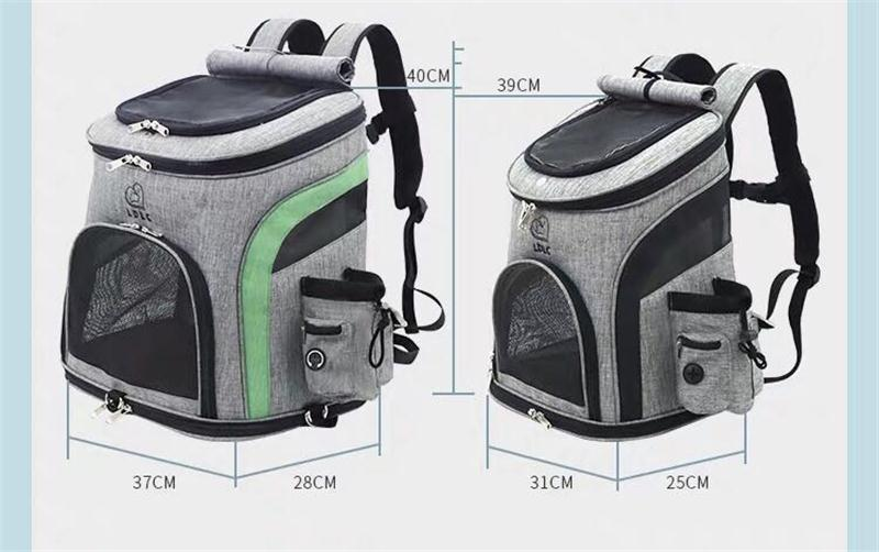 Capacity Large Dog Backpack Carrier 9