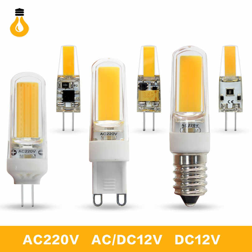 Lowest price g4 LED Bulb SMD 2835 3014 G4 G9 Halogen light 3W 7W 9W 10W 12W AC220V Corn Light 12v led Replace g9 led lamp