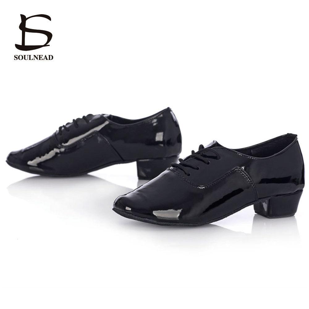 נעלי ריקוד למבוגרים בלבד נעלי גברים לטינית ריקודים זולים טנגו ריקודים נעליים שחור / לבן PU Zapatos de baile לטינו hombre