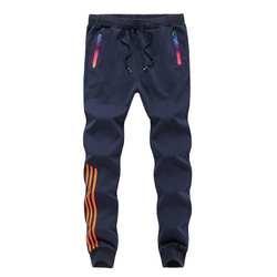 Осень-зима Брендовые мужские брюки Slim Fit повседневные длинные брюки спортивная одежда хлопок мужские s свободные большие размеры