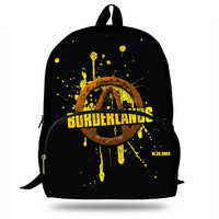 Newest Borderlands 2 Jack Tiny Tina Zero Printed Backpack Children School Bags for young men Boys Teenage Girls Casual Backpacks
