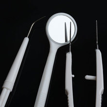 3pcs Stainless Steel Dental Instruments