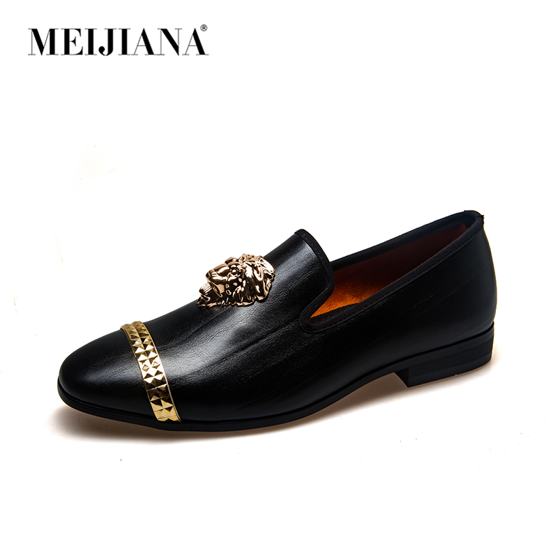 Image 2 - MEIJIANA Men Shoes luxury Brand Moccasin Leather Casual Driving Oxfords Shoes Men Loafers Moccasins Italian Shoes for Men-in Men's Casual Shoes from Shoes
