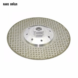 Image 1 - 115*M14*2.5mm Electroplated Diamond Cutting Blade Grinding Wheel for Granite Cut off & Finish on Angle Grinder Power Tool