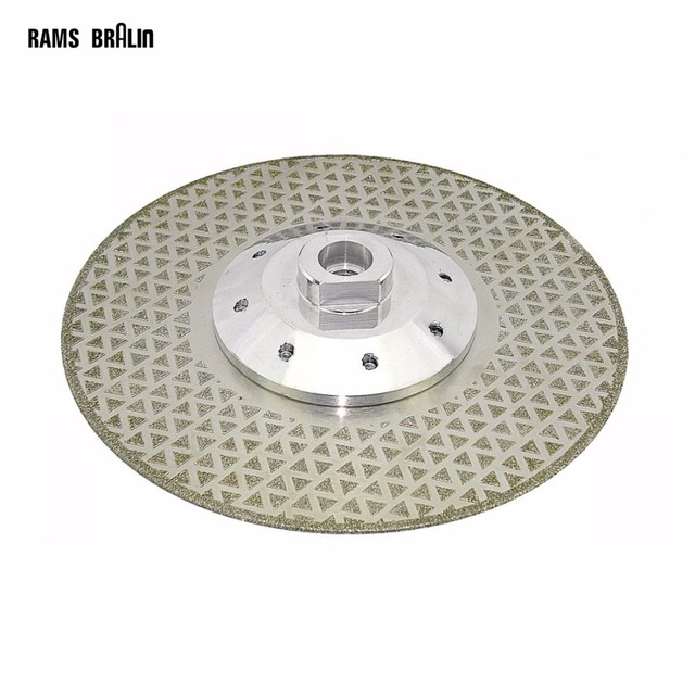 115*M14*2.5mm Electroplated Diamond Cutting Blade Grinding Wheel for Granite Cut off & Finish on Angle Grinder Power Tool