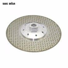 115 * M14 * 2.5mm elektrolize elmas kesim bıçağı taşlama için granit kesme ve Finish açı öğütücü güç aracı