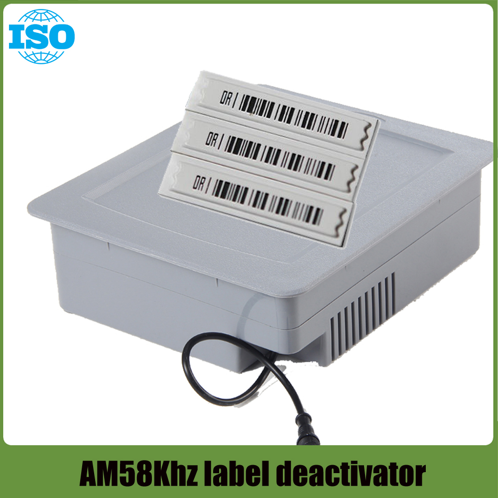 EAS AM DR Soft Label Deactivator 58Khz Tag Alarm Deactivator for Retail Anti theft System