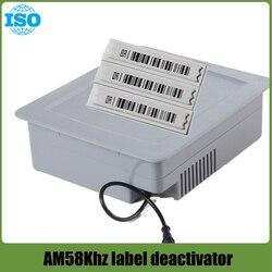 EAS AM DR dezaktywator miękkiej etykiety 58Khz dezaktywator alarmu dla handlu detalicznego z zabezpieczeniem przeciw kradzieży