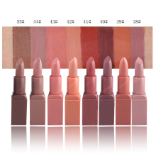8PCS/LOT Miss Rose Matte Smooth Lipstick Velvet High Quality Waterproof LongLasting Lip Gloss Brand Makeup Sexy Color
