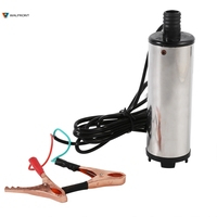 Portable DC 12V Submersible Fuel Transfer Pump Stainless Steel Mini Electric Diesel Fuel Pump Professional Durable