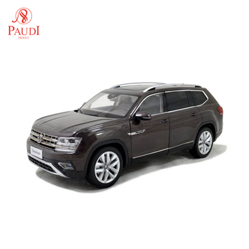 1/18 1:18 Scale VW Altas 2017 Brown Static Simulation Diecast Alloy Model Car Gifts Collections