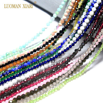 Wholesale Faceted 2mm 3mm Natural  Pink Quartz Crystal Gem Beads For Jewelry
