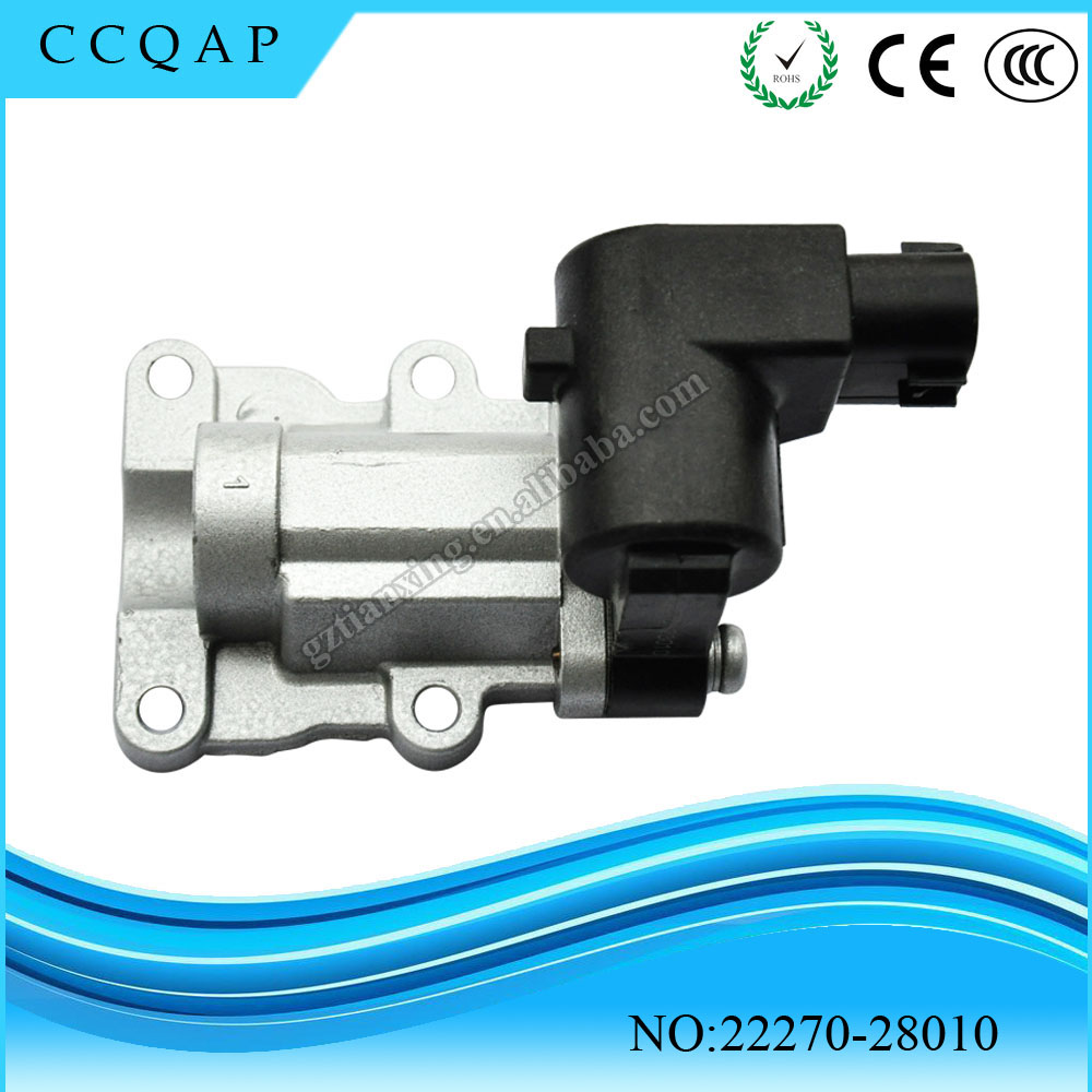 2227028010 High Quality Idle Air Control Valve 22270 28010 For 2000 Toyota 4runner Highlander 24 Rav4 20 In From Automobiles