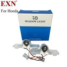 Пара водить автомобиль Добро пожаловать двери Предоставлено лазерный проектор логотип Призрак Тень Свет для Honda Accord Crosstour водить автомобиль дверь логотип лампа