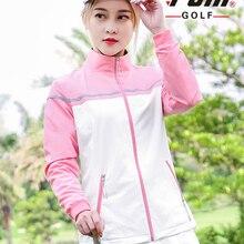 Женская ветронепроницаемая куртка-светильник для гольфа, тонкое пальто, уличная спортивная одежда для женщин, куртки для гольфа с длинным рукавом в стиле пэчворк, D0505