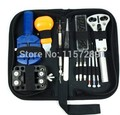 13 unids Watch Repair Tool Kit Case Batería Abridor Enlace Pasadores Remover Destornilladores