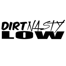 Fashion Personality Text Dirty Nasty Low Vinyl Car Window Decal Sticker Car Stickers wholesale 10pcs lot 20pcs lot 2x low new mk7 fiesta lowered car outline car stickers cartoon oem car window car body vinyl decal