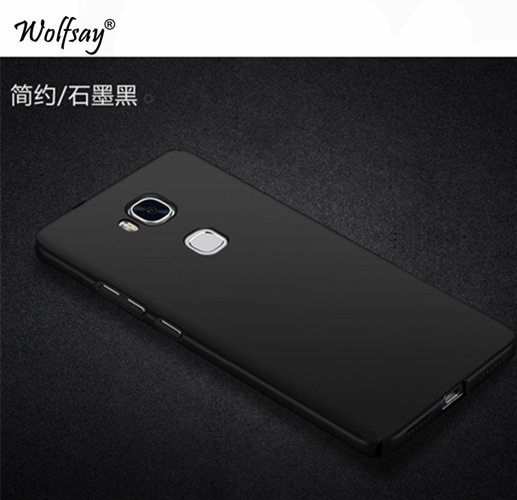 Wolfsay For Cover Huawei Honor 5X Case Ultra Thin PC Phone Case For Huawei Honor 5X Cover For Huawei Honor 5X Phone Protection
