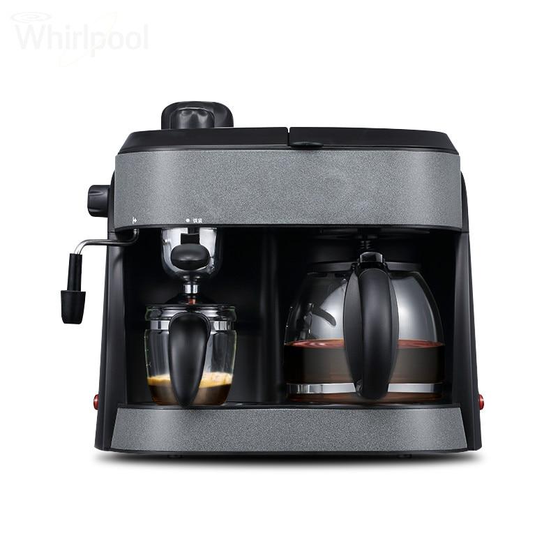 Espresso Coffee Maker American espresso machine full semi-automatic commercial steam Semi-Automatic free shipping the espresso machine use commercial semi automatic instant steam double charged coffee machine