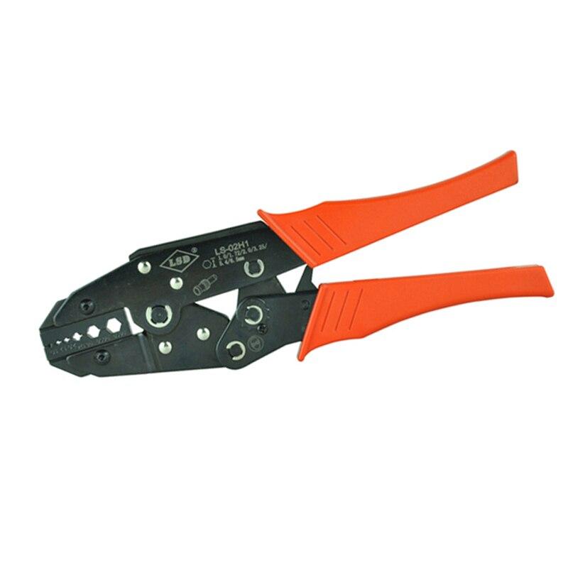 Rg58 Rg59 Rg62 Hand-crimpzange/zange Hex Crimper Logisch Koaxial Crimp-werkzeug Ls-02h1 Für Koaxialkabel Bnc Fiber Optic