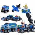 DIY Conjunto Série Do Caminhão Caminhão de Brinquedo de Construção Building Blocks Set Toy Diversão DIY Ferramenta Veículo Simulação New Hot!