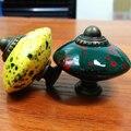 Forma de Disco do vintage Botão Móveis Acrílico alça Gaveta Do Armário Knob Armário Dresser Maçanetas de Gaveta Puxa para Cozinha Quarto