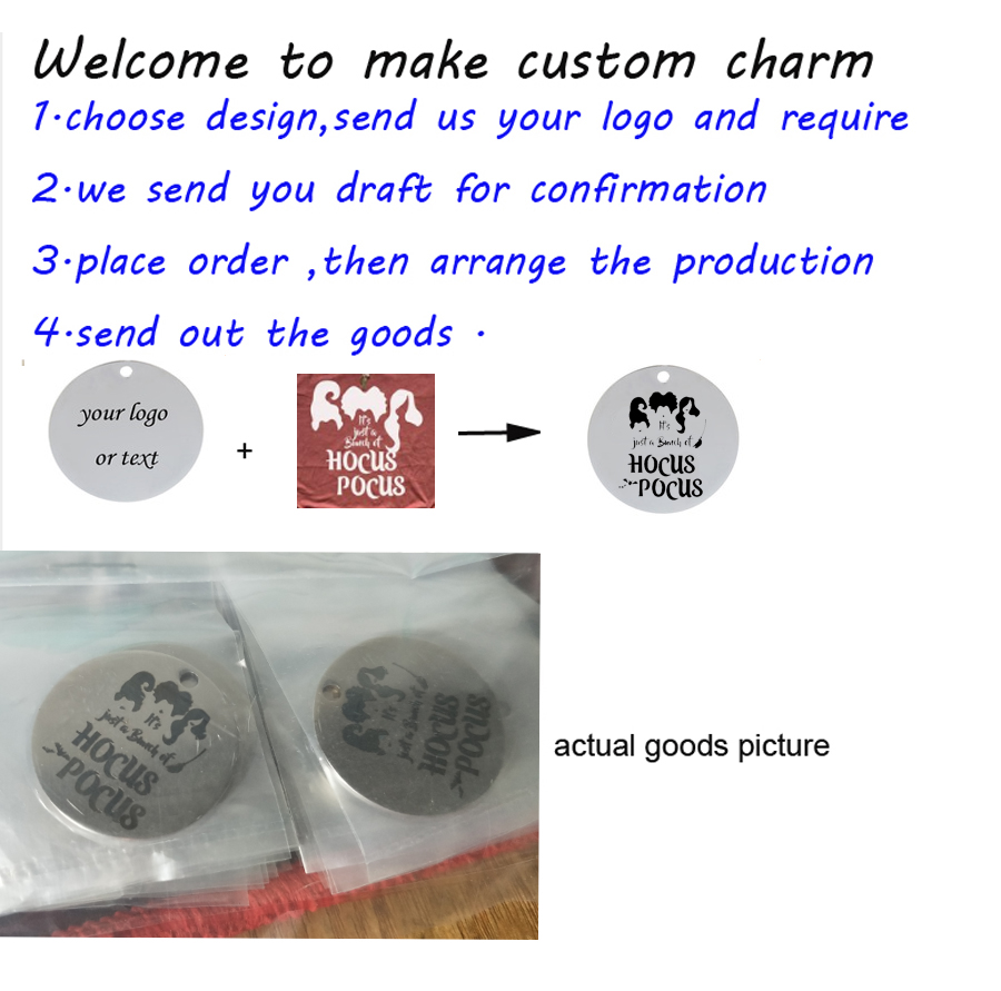 Ladyfun Customizable Stainless Steel Charm God Grace Pendant The Will of God will never take you Charms for jewelry making in Charms from Jewelry Accessories
