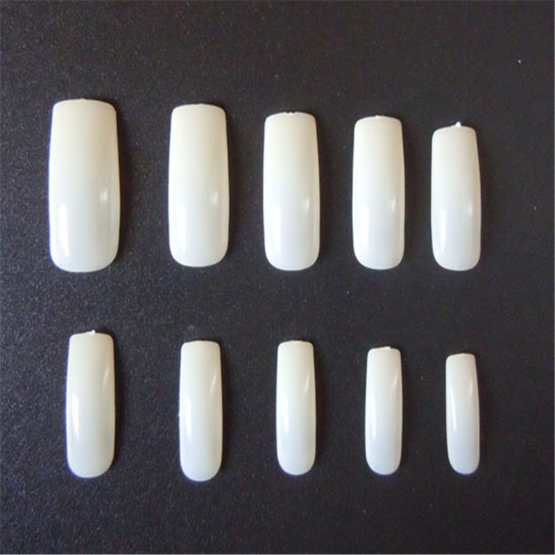 Free shipping 500 Special Clear Duck Feet french nail art tips full ...
