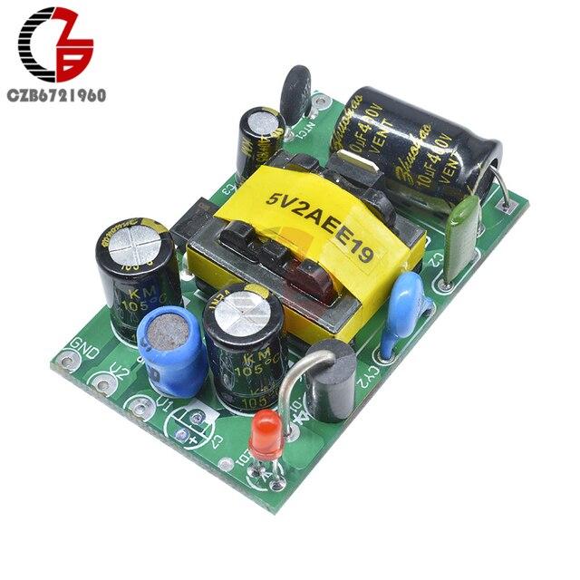 AC-DC 110V 220V to 5V 1.5A Step Down Power Supply Module 85-265V to 5V Buck Converter Voltage Regulator for Laptop LED Monitor