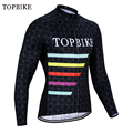 TOPBIKE Джерси с длинным рукавом MTB велосипедная одежда Maillot Ropa Ciclismo Осенняя дышащая велосипедная одежда мотоциклетная Джерси