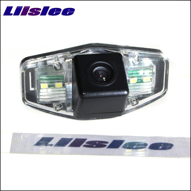 LiisLee Car Rear View Camera For Acura MDX TSX RL TL CSX RDX ILX ZDX CL EL Night Vision Look Back Backup CCD Camera