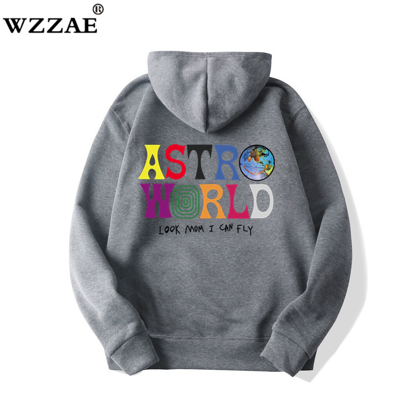 Fashion Letter ASTROWORLD HOODIE street wear Man woman Pullover Sweatshirt 56