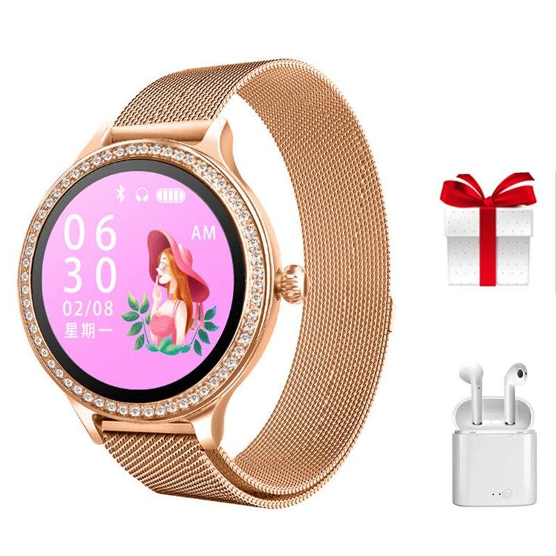M8 airpods set smart watch women iP68 waterproof Bracelet Heart Rate Monitor Sleep Monitoring Smartwatch Connect