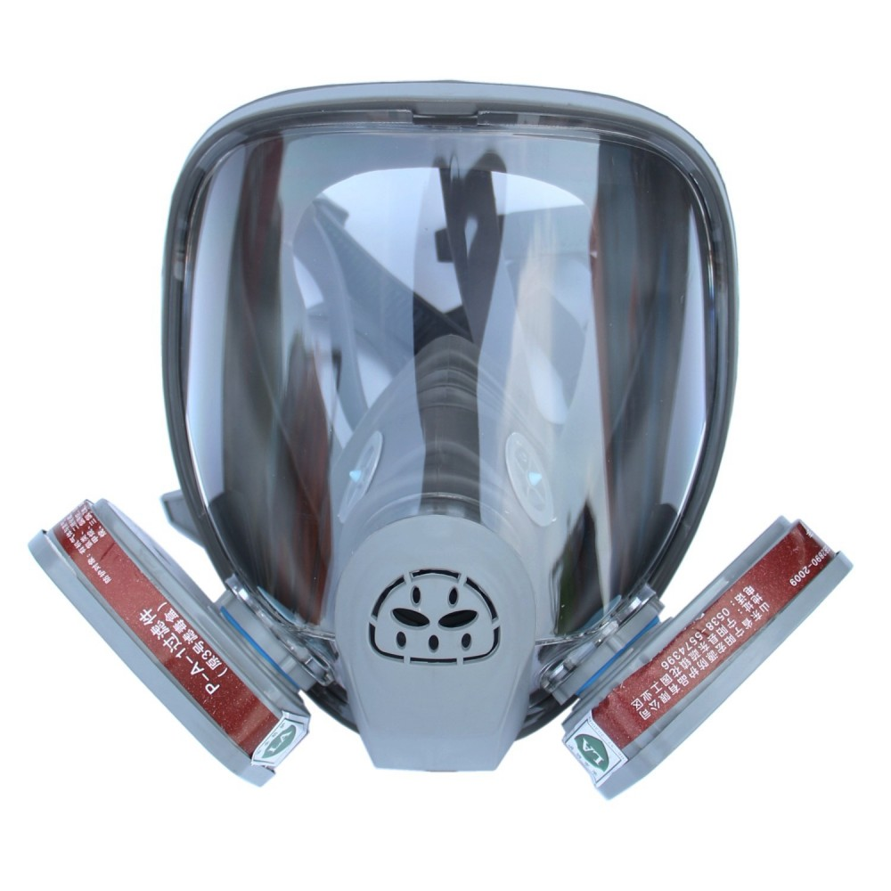 For 6800 Gas Mask Grey Full Facepiece Respirator 7 Pcs Suit Painting Spraying Anti Dust 5n11 Filters 6001cn Cartridge Good For Antipyretic And Throat Soother Back To Search Resultshome & Garden