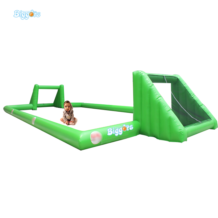 Inflatable Biggors Sea Shipping Logo Printing Inflatable Football Field Without Mattress For Sale